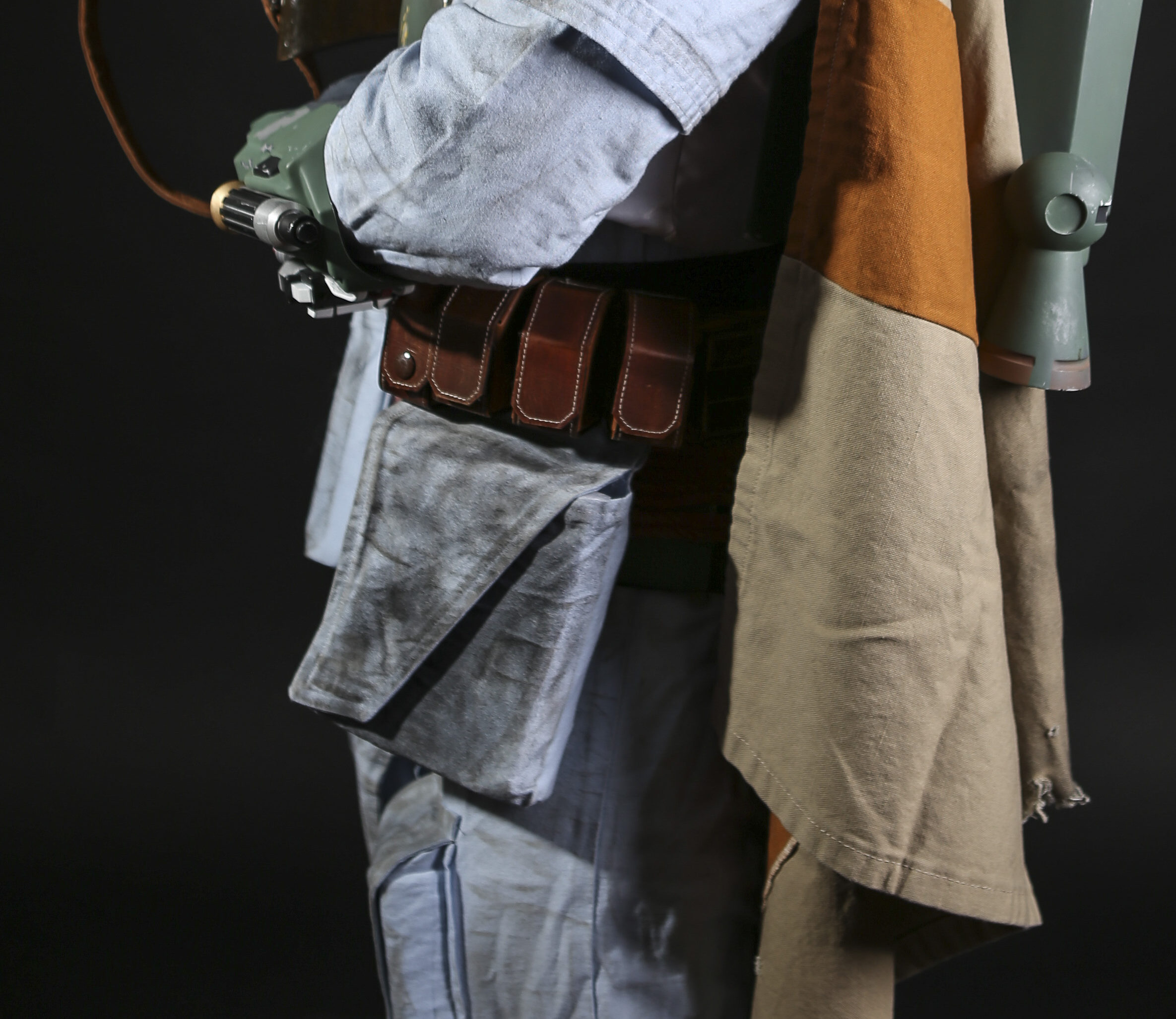 Close up of the Boba Fett hip pouch