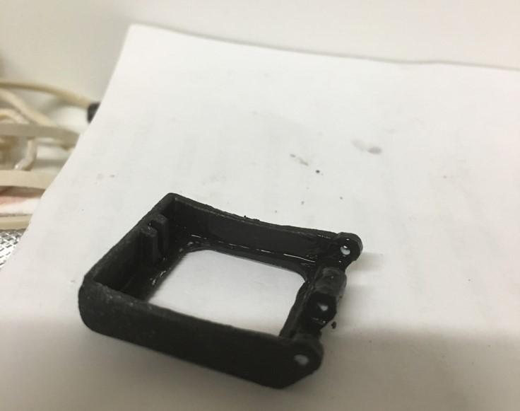 Boba Fett Polariod Lens painted black.