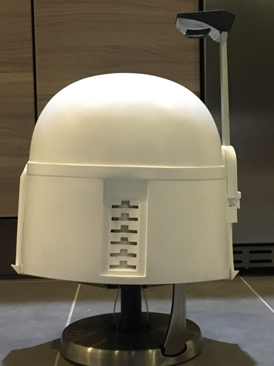You have successfully finished the best Boba Fett Helmet Available. Happy Trooping!