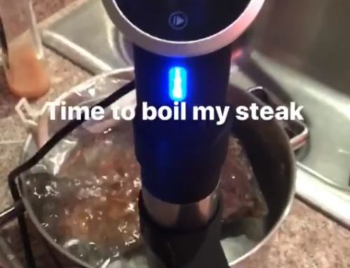 Next Level Steak Boiling